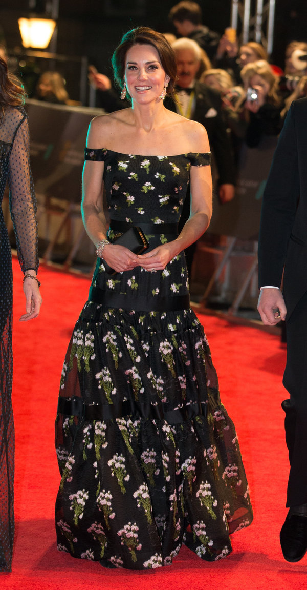 BRITAIN-ENTERTAINMENT-FILM-AWARDS-BAFTA-ROYALS