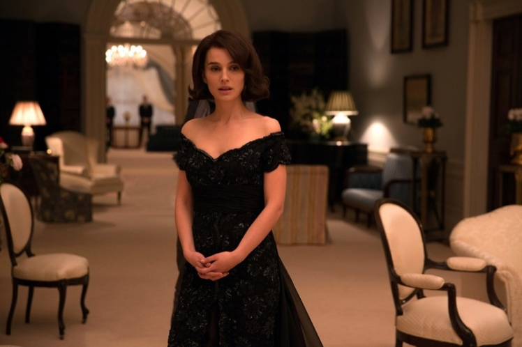 jackie-kennedy-dior-black-dress-movie-natalie-portman