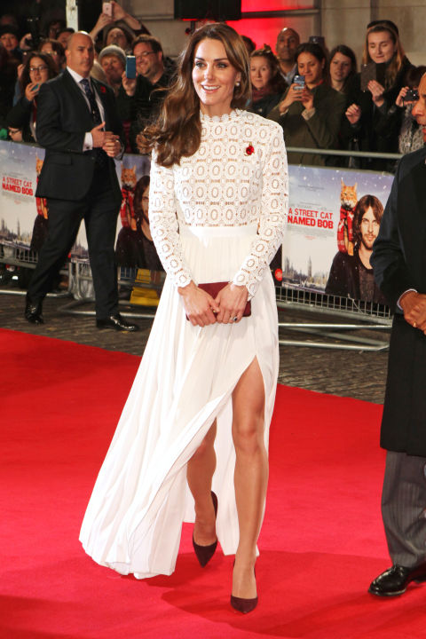Self Portrait em premiere em Londres nov 16