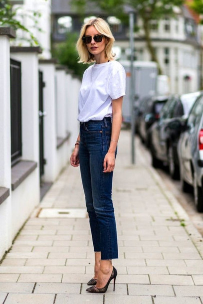2645vp-l-610x610-jeans-tumblr-blue+jeans-denim-pumps-black+pumps-pointed+toe+pumps-high+heel+pumps--white-sunglasses-office+outfits-casual+chic-jacket-cropped+jeans-t+shirt-white+t+shirt
