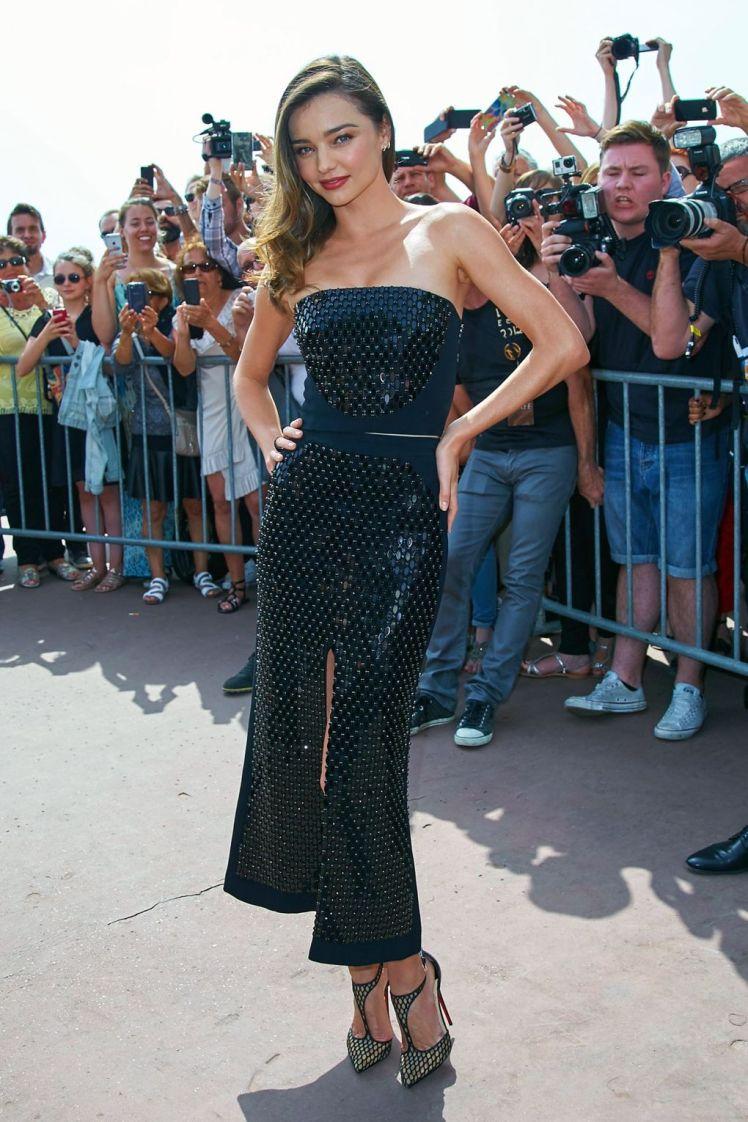 Festival de Cannes em 2015, usando David Koma