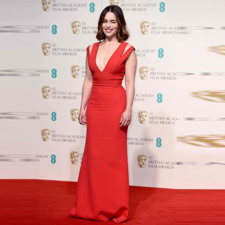 Long-Red-Prom-Dress-Inspired-by-Emilia-Clarke-Grammy-Awards-For-Celebrity-Red-Carpet-Dresses-V
