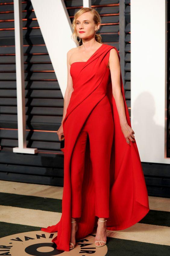 Festa Pos Oscar da Vanity Fair - Look Donna Karan